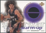 2001/02 Upper Deck Ovation Basketball John Stockton Warm-Up