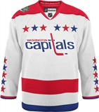 Washington Capitals 2011 Winter Classic Reebok Edge White Authentic Jersey (Adult 50)