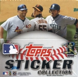 2011 Topps Baseball Hobby Sticker Box