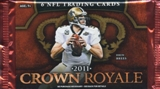 2011 Panini Crown Royale Football Hobby Pack