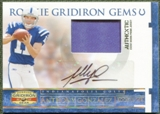 2007 Donruss Gridiron Gear Rookie Jerseys Patch Auto #208 Anthony Gonzalez /50