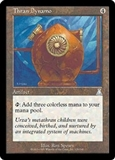 Magic the Gathering Urza's Destiny Single Thran Dynamo Foil
