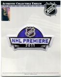 2011 NHL Premiere Buffalo Sabres Kings Ducks Rangers National Emblem Patch
