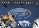 2011/12 Panini Certified Hockey Hobby Box