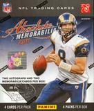 2011 Panini Absolute Memorabilia Football Hobby Box