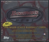 1998 Bowman's Best Baseball 20-Pack Retail Box