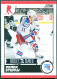 2010/11 Score #565 Derek Stepan 10 Card Lot
