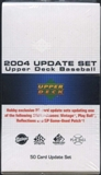 2004 Upper Deck Update Baseball Set