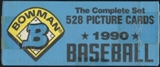 1990 Bowman Baseball Factory Set (Blue)