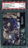 1997 Upper Deck Legends Autographs #AL134 Jim Marshall PSA 9 MINT *9887