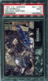 1997 Upper Deck Legends Autographs #AL134 Jim Marshall PSA 9 MINT *9888