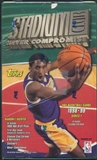 1998/99 Topps Stadium Club Series 1 Basketball Retail Box