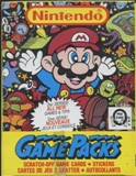 Nintendo Game Packs Series 2 Wax Box (1989 O-Pee-Chee)