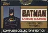 Batman Movie Series 1 Factory Set (1989 Topps)