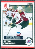 2010/11 Score #577 Peter Forsberg 10 Card Lot
