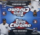 2011 Topps Chrome Baseball 24-Pack Box