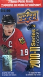 2010/11 Upper Deck Series 2 Hockey 12-Pack Box