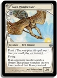 Magic the Gathering Future Sight Single Aven Mindcensor - SLIGHT PLAY (SP)