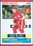 2010/11 Score #602 Tomas Tatar RC 10 Card Lot