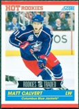 2010/11 Score #612 Matt Calvert RC 10 Card Lot