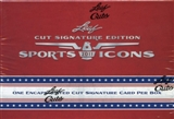 2011 Leaf Sports Icons Cut Signature Edition Hobby Box