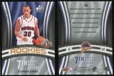 2009/10 Upper Deck SP Game Used #133 Stephen Curry RC /399