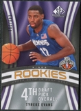 2009/10 Upper Deck SP Game Used #140 Tyreke Evans RC  /399