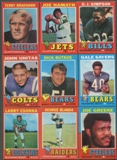 1971 Topps Football Complete Set (EX)