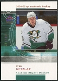 2004/05 Upper Deck SP Authentic Rookie Redemptions #RR45 Ryan Getzlaf /399