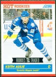 2010/11 Score #629 Keith Aulie RC 10 Card Lot