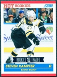 2010/11 Score #630 Steven Kampfer RC 10 Card Lot