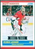 2010/11 Score #631 Robin Lehner RC 10 Card Lot