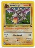 Pokemon Fossil 1st Edition Single Aerodactyl 1/62 - Prerelease Promo