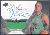2007/08 Upper Deck Exquisite Collection #70 Glen Davis Rookie Patch Autograph 154/225