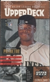 1997 Upper Deck Series 2 Baseball Retail 28-Pack Box