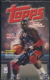 1997/98 Topps Series 1 Basketball Retail Box