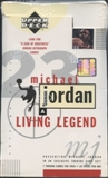 1998/99 Upper Deck Michael Jordan Living Legend Basketball Box