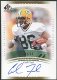2003 Upper Deck SP Authentic Gold #224 Carl Ford Autograph /25
