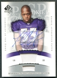 2003 Upper Deck SP Authentic #255 Terrell Suggs RC Rookie Autograph Patch /250