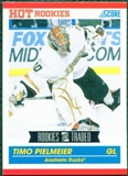 2010/11 Score #655 Timo Pielmeier RC 10 Card Lot