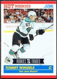 2010/11 Score #656 Tommy Wingels RC 10 Card Lot