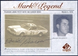 1998 Upper Deck SP Authentic Mark of a Legend #M2 David Pearson Autograph