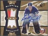2006/07 Upper Deck SPX Hockey Billy Smith Jersey Auto #01/10