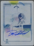 2010 Bowman Chrome Baseball Tyler Chatwood Printing Plate Rookie Auto #1/1