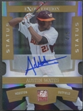 2010 Donruss Elite Baseball Austin Wates Rookie Auto #4/5