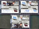 2010/11 Certified Junior Legacy Combos Autographs #1 Sidney Crosby Vincent Lecavalier 3 Card Set 2/5