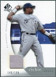 2005 Upper Deck SP Authentic Jersey #81 Rickie Weeks /199