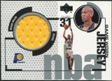 1998/99 Upper Deck Game Jerseys #GJ3 Reggie Miller Gold