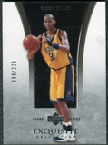2004/05 Upper Deck Exquisite Collection #14 Reggie Miller /225