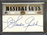 2008 Upper Deck SP Legendery Cuts Baseball Sandra Gould Auto #2/2